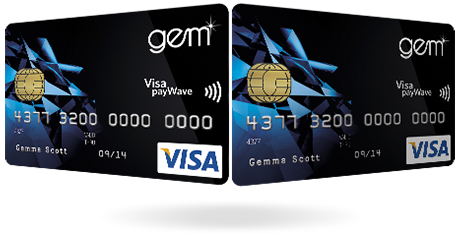 how to get gems visa card